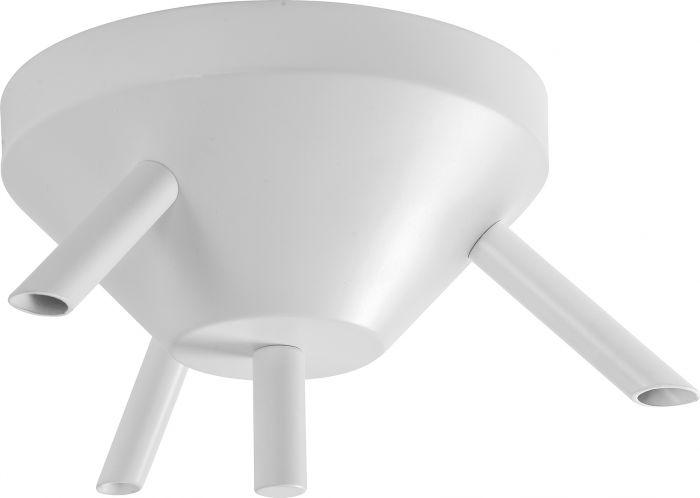 Kattokuppi Airam 3-os Valkoinen