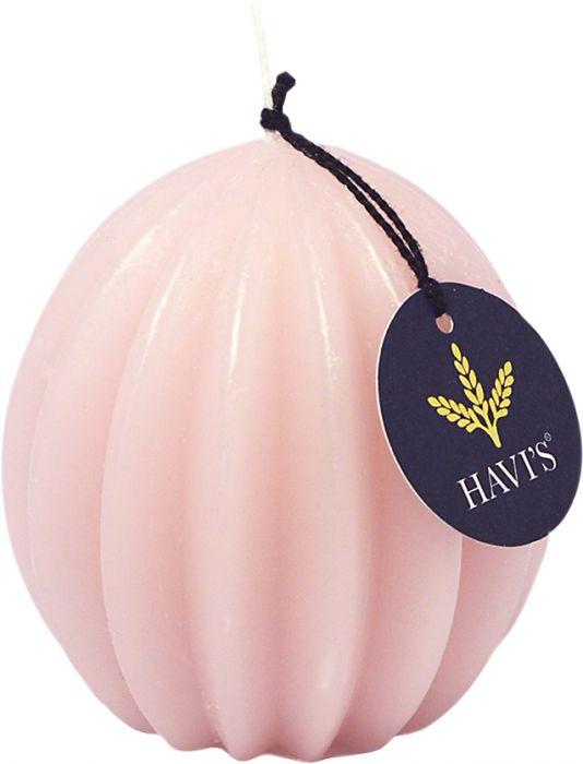 Vekkipallokynttilä Havi's 8,5 cm roosa