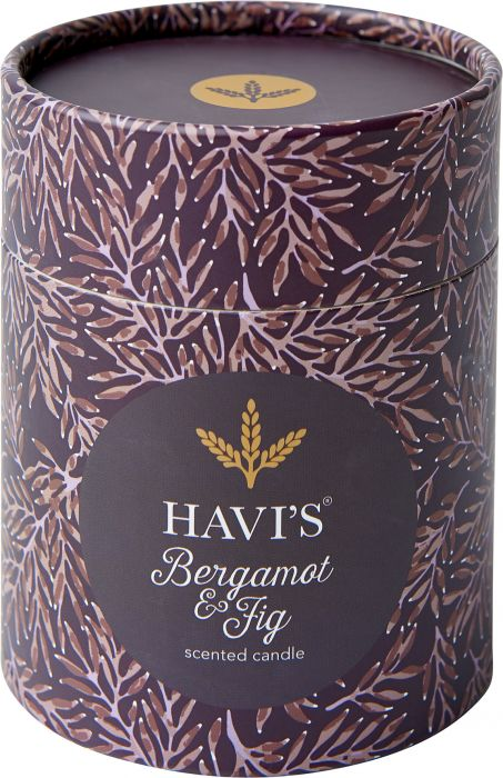 Tuoksukynttilä Havi's Bergamot&Fig 8 x 9 cm
