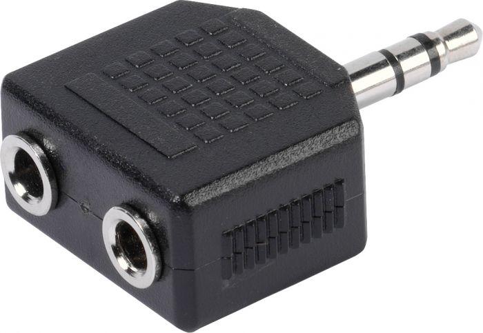 Audioadapteri 2 x 3,5 mm