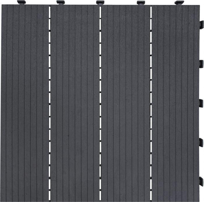 Modulaarilaatta Cosmopolitan 30 x 30 cm 6 kpl harmaa