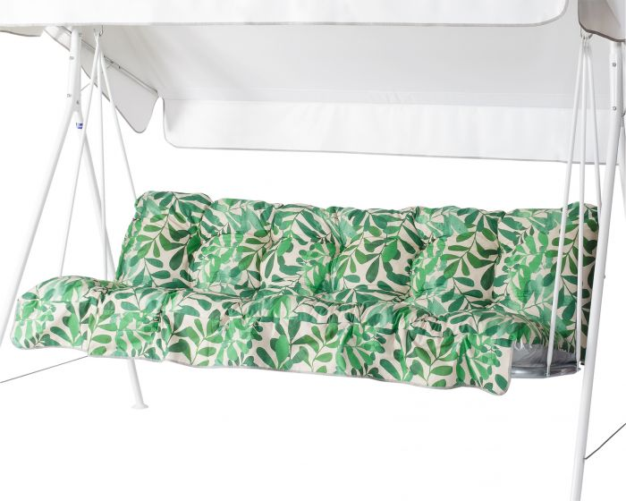 Pehmuste Varax Riviera/Teneriffa keinu vihreä lehtikuvio