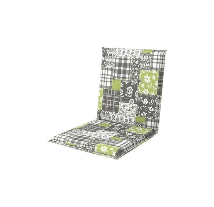 Istuinpehmuste Doppler Living 100 x 48 x 6 cm vihreä-harmaa