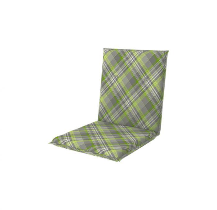 Istuinpehmuste Doppler Living vihreä-harmaa 100 x 48 cm