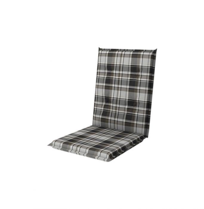 Istuinpehmuste Doppler Comfort 110 x 50 cm tummanharmaa-musta