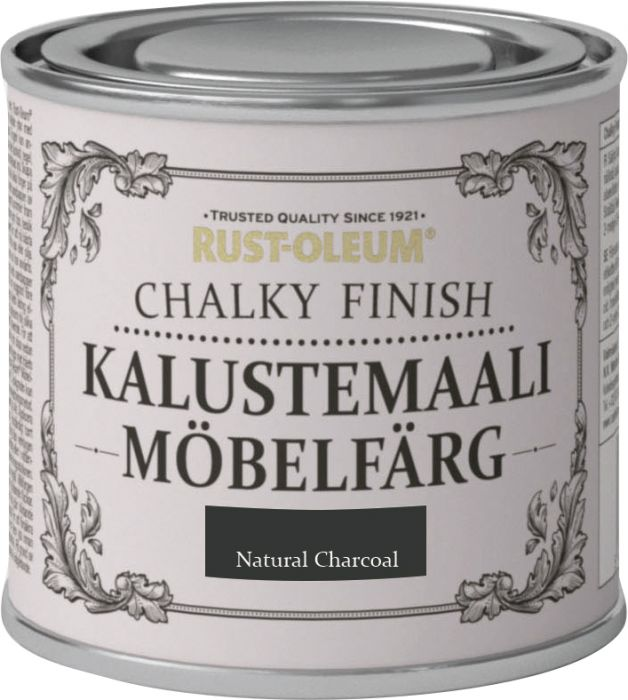 Kalustemaali Rust-Oleum Chalky Finish Natural Charcoal