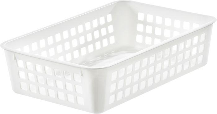 Säilytyskori SmartStore Basket Recycled 2 Valkoinen 25 x 17 x 7 cm