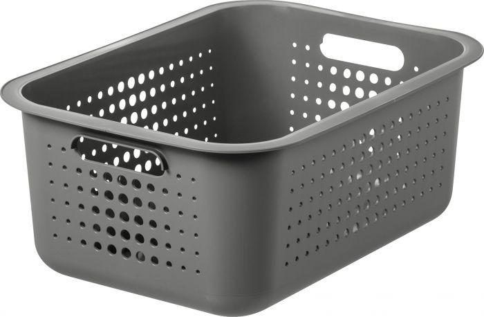 Säilytyskori SmartStore Basket Recycled 15 Taupe 37 x 28 x 15 cm