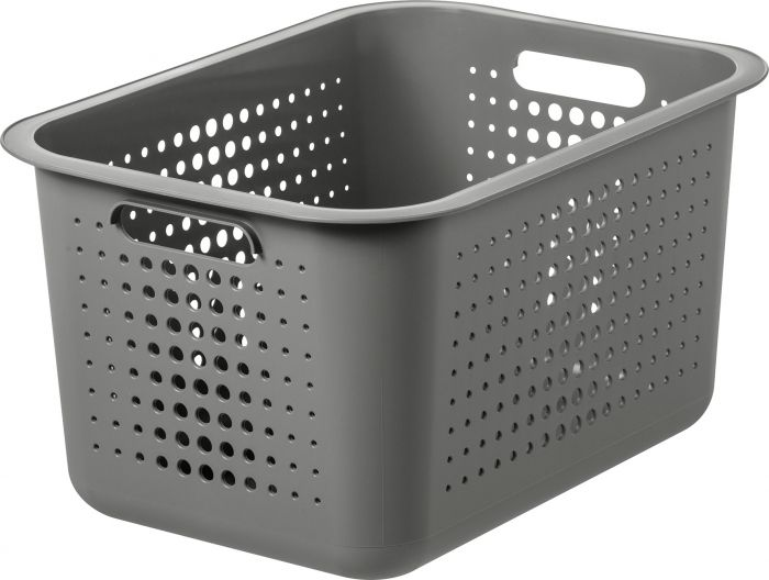 Säilytyskori SmartStore Basket Recycled 20 Taupe 37 x 28 x 20 cm