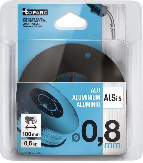 Hitsauslanka Toparc ⌀ 0,8 mm 0,5 kg
