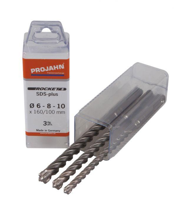 Poranteräsarja Projahn SDS-Plus 3-os. Ø  6-10 mm