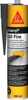 Akryylimassa Sikacryl-620 Fire 300 ml