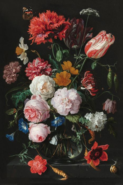Sisustustaulu Reinders Jan Davidsz Stillife Flowers