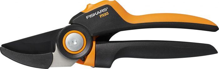 Oksasakset Fiskars PowerGear X PX93 alasinmalli