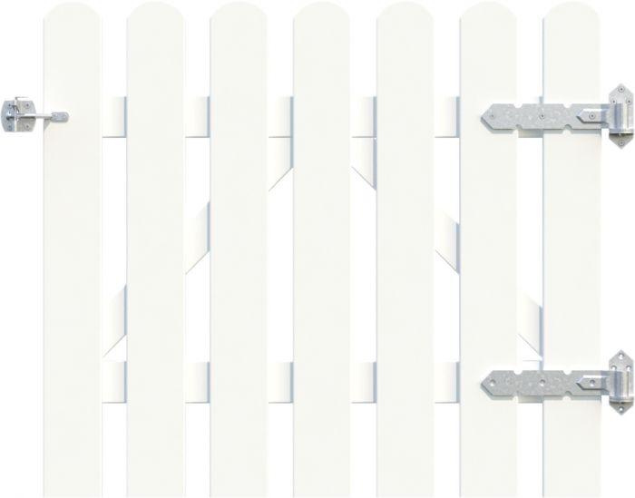 Portti Kelda 90 x 80 cm valkoinen