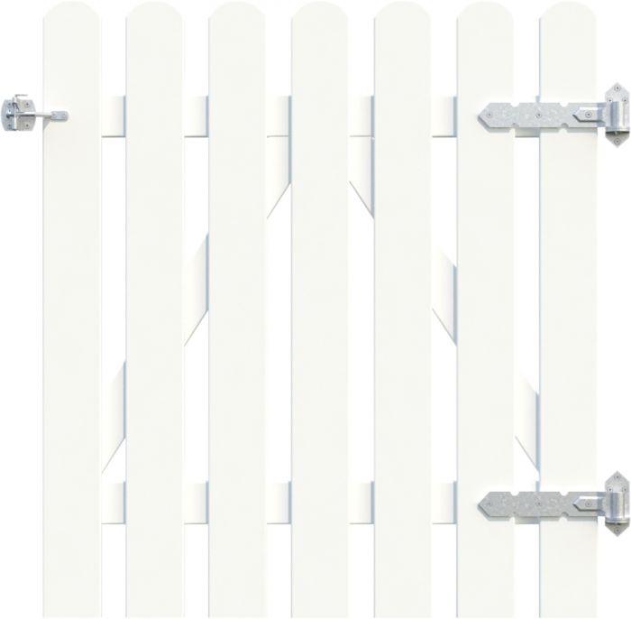 Portti Kelda 90 x 100 cm valkoinen