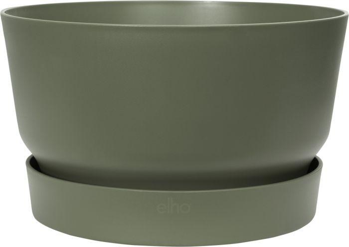 Istutusruukku Elho Greenville 33 cm vihreä