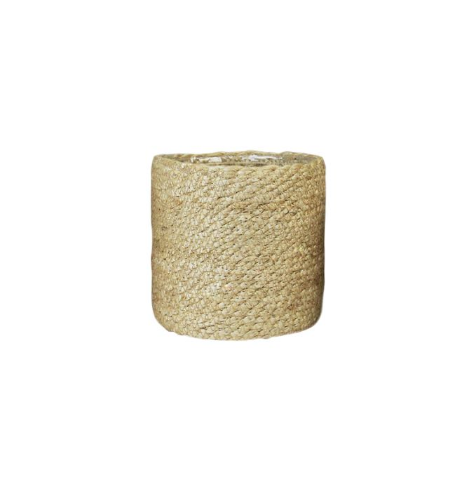 Juuttikori muovitettu 16 cm