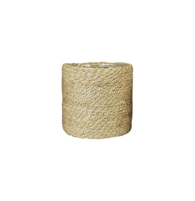 Juuttikori muovitettu 30 cm