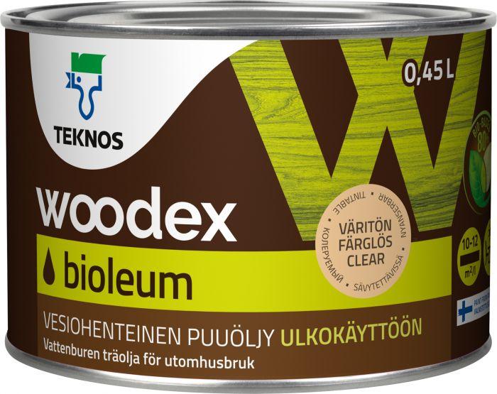 Puuöljy Teknos Woodex Bioleum Väritön
