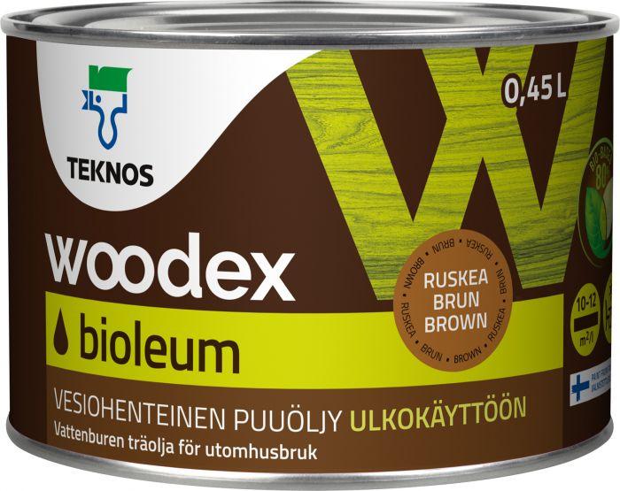 Puuöljy Teknos Woodex Bioleum Ruskea