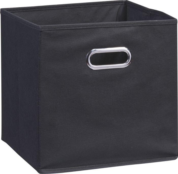 Säilytyslaatikko Zeller Musta 32 x 32 x 32 cm