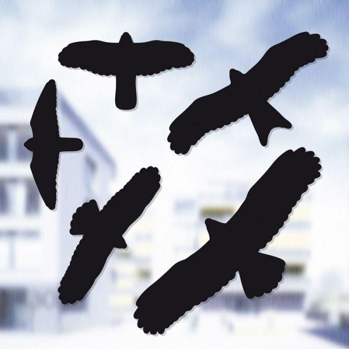 Lintujen törmäyksenestotarrat 5 kpl