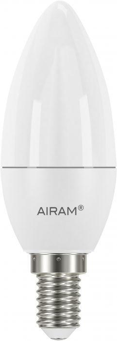 Kynttilälamppu Airam opaali 6 W E14 470 lm