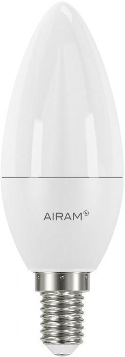 Kynttilälamppu Airam opaali 8 W E14 806 lm