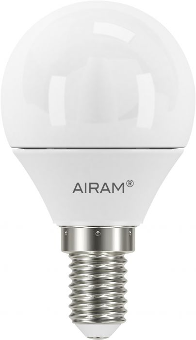 Mainoslamppu Airam opaali 6 W E14 470 lm