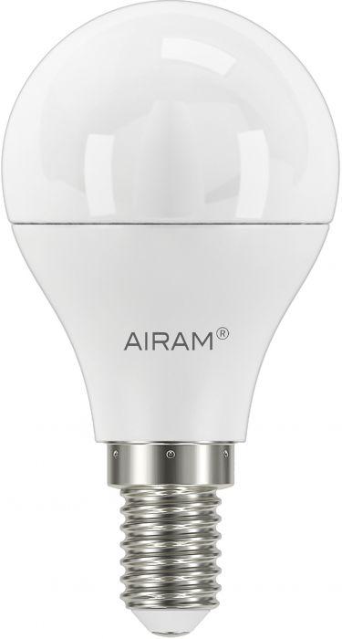 Mainoslamppu Airam opaali 8 W E14 806 lm