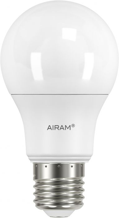 Vakiolamppu Airam opaali himmennettävä 8,5 W 806 lm