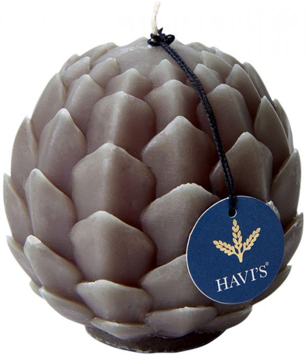 Pöytäkynttilä Havi's Artisokka 9 x 10,5 cm oliivi