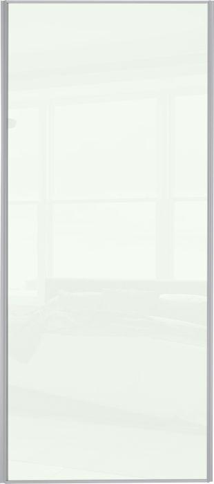 Liukuovi Lundbergs Entry 610 x 2301 mm Valkoinen lasi