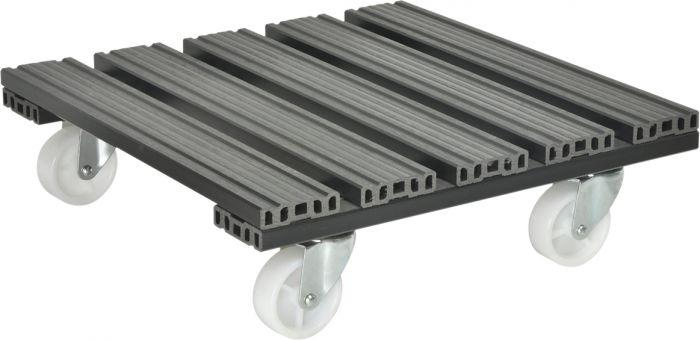Ruukunalunen Gardol WPC 38,5 x 38,5 cm antrasiitti