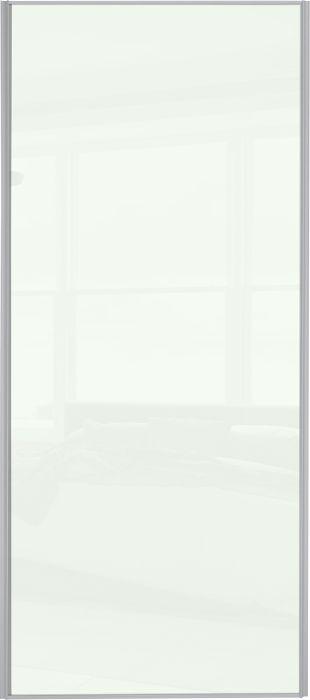 Liukuovi Lundbergs Entry 914 x 2301 mm Valkoinen lasi