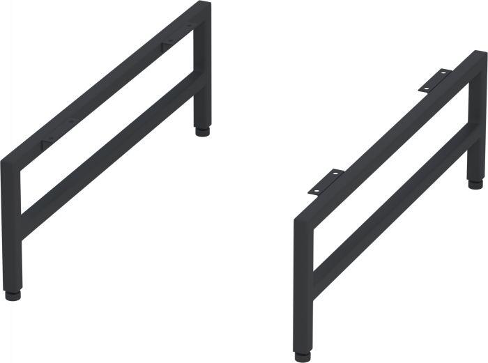 Kalustejalat Camargue Nord Modern -allaskaappiin 15 cm