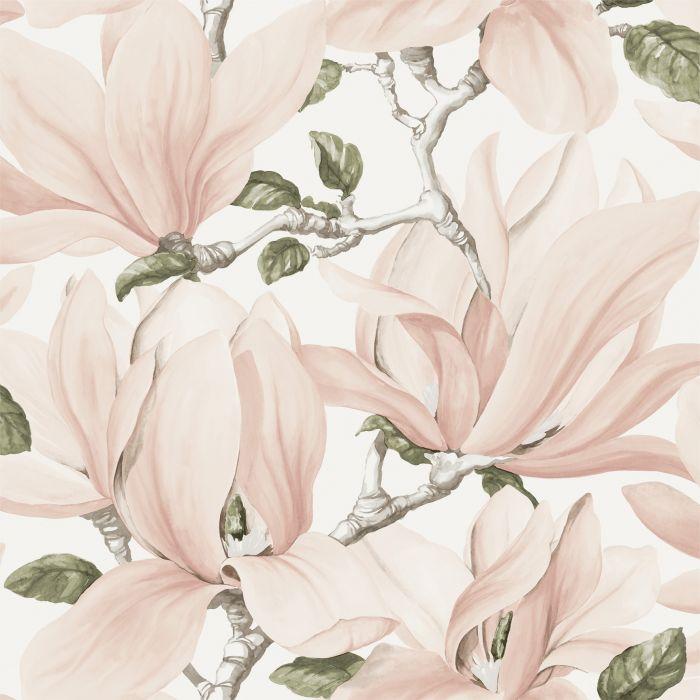 Kuitutapetti Maison Magnolia Vaaleanpunainen