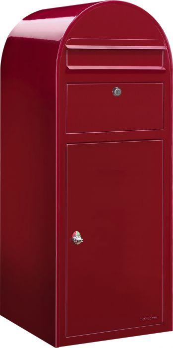 Posti- ja pakettilaatikko Bobi Cargo Punainen