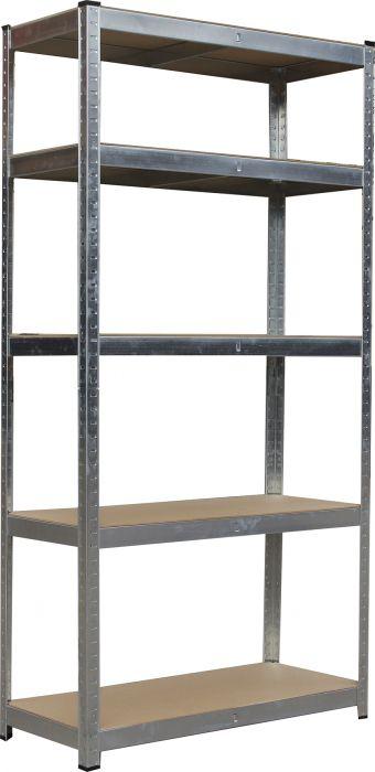 Metallihylly Steel 5 90 x 40 x 180 cm