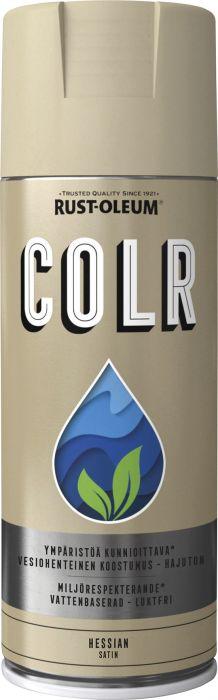 Spraymaali Rust-Oleum COLR 400 ml Satiini Hessian
