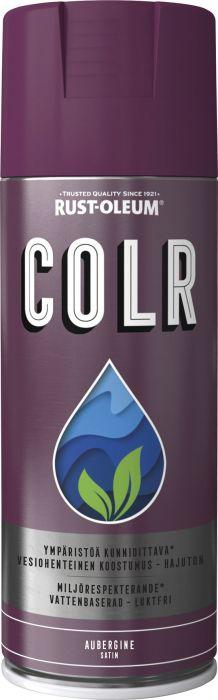Spraymaali Rust-Oleum COLR 400 ml Satiini Aubergine