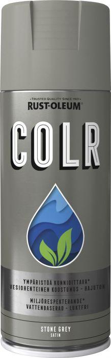 Spraymaali Rust-Oleum COLR 400 ml Satiini Stone Grey