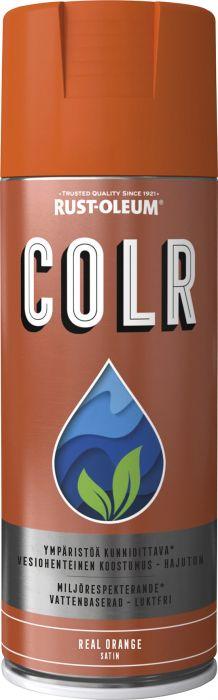 Spraymaali Rust-Oleum COLR 400 ml Real Orange