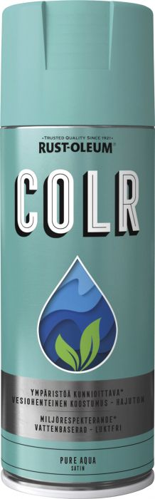 Spraymaali Rust-Oleum COLR 400 ml Pure Aque