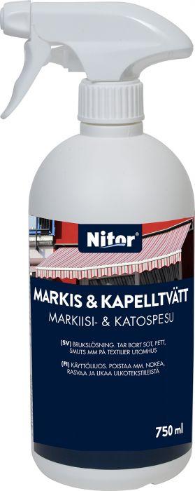 Markiisi- ja kangaspesu Nitor 750 ml