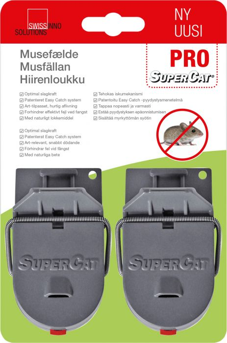 Hiirenloukku Supercat Pro 2 kpl
