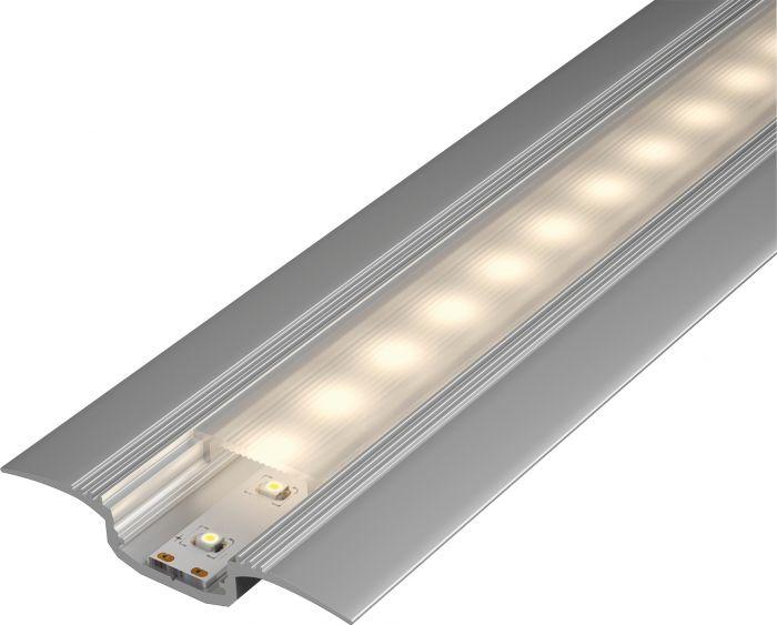 Kynnysprofiili diffuusorilla Paulmann Alumiini 11 x 60 x 2000 mm