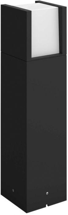 Pylväsvalaisin Hue Fuzo Musta 40 cm