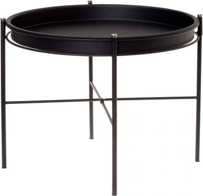Pöytä Matilda musta 53 x 40 cm